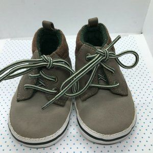 Baby Boys Brown Shoes First Walkers Soft Sole